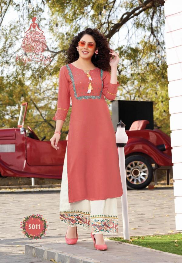 Kajal Style Fashion Label-5 Attractive Readymade Collection