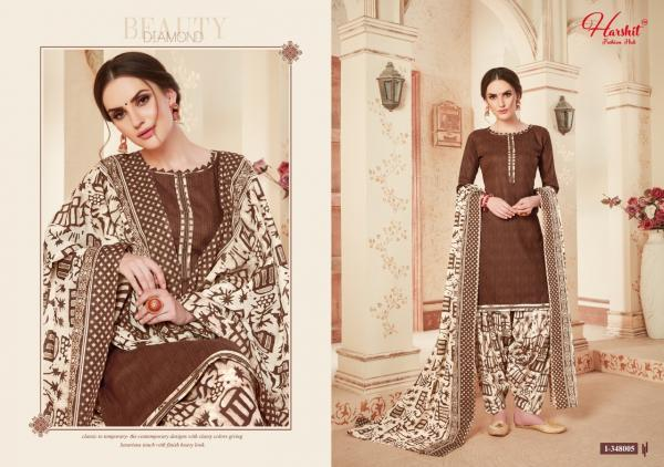 HP 1-348 005 Super Cotton Print Patiyala Suits