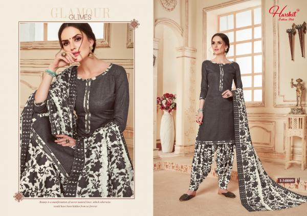 HP 1-348 009 Super Cotton Print Patiyala Suits