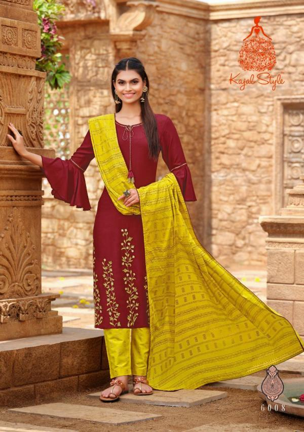 Kajal Gulzar 6 Designer Redymade Occasional Wear Collection