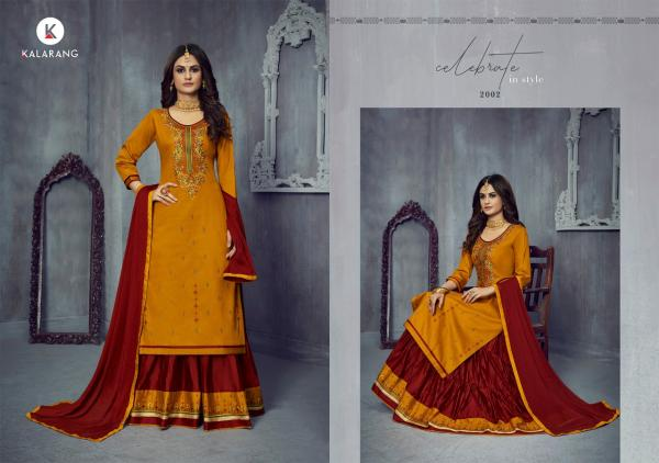 Kalarang Blossom 14-Cotton-Silk-With-Embroidery-Salwar