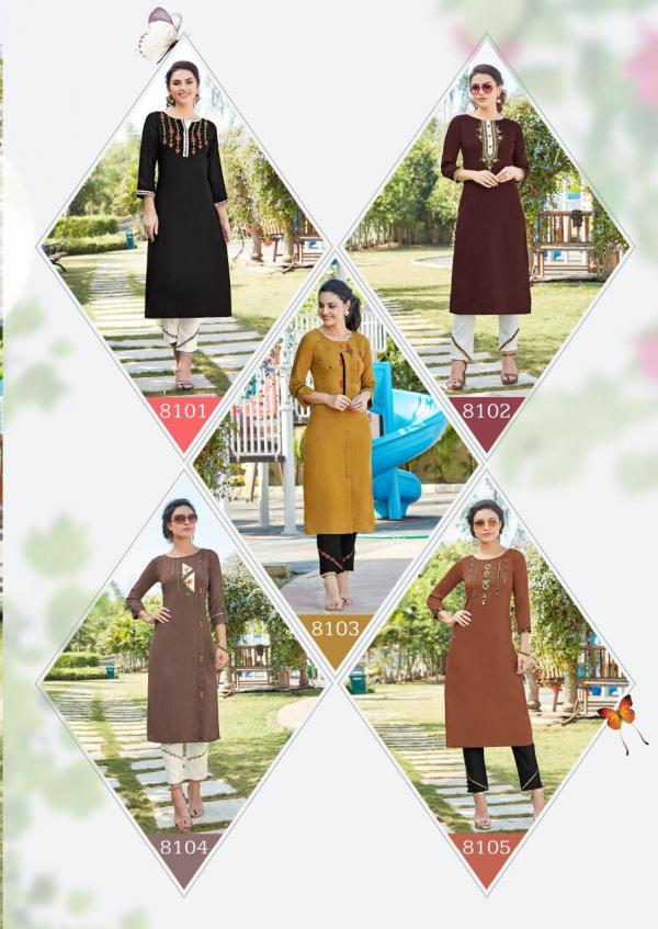 Koodee-Cheshta-1 Rayon Readymade Collection