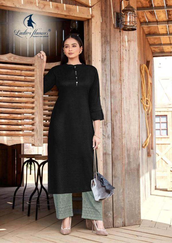 LF Shehnaz 2 rayon kurti bottom design