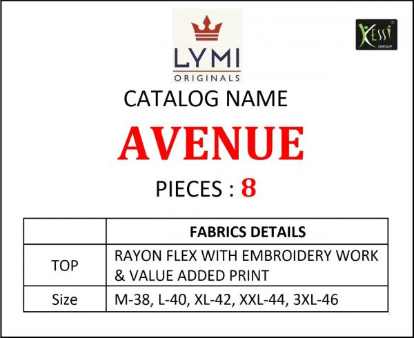 Lymi-Avenue Rayon Embroidery Kurtis Seller Wholesale