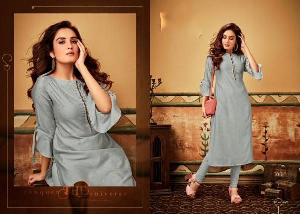 Privaa-Nirvana Viscose Muslin Kurti With Bottom