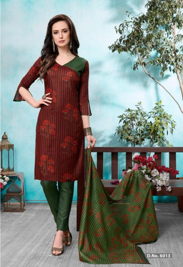 Sc-Laadki Cotton Printed Unstich Dress Material