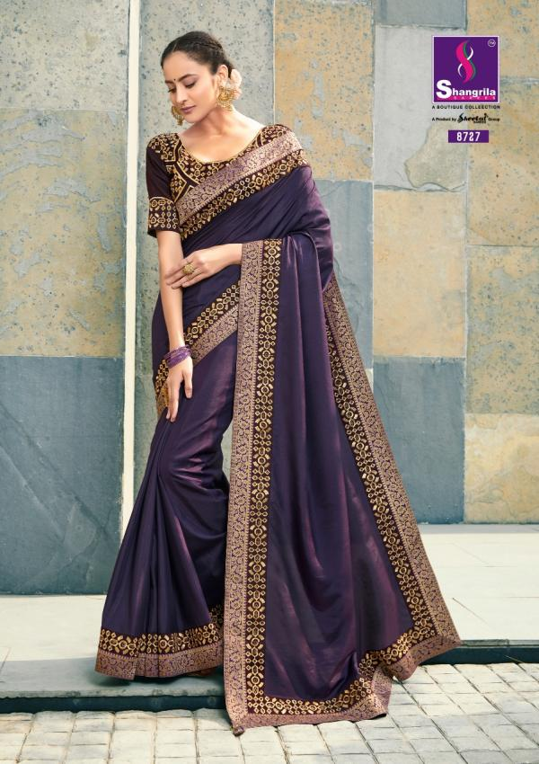 Shangrila-Sulochana Silk Soft Designer Festive Wear Saree