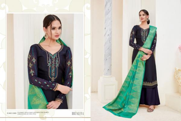 Starigon Georgette Satin Designer Salwar Suits
