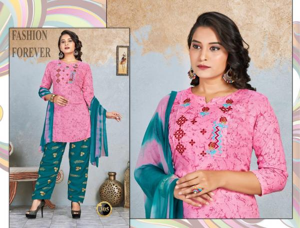 Trendy Scarlet 1 Rayon Designer Readymade Salwar Collection
