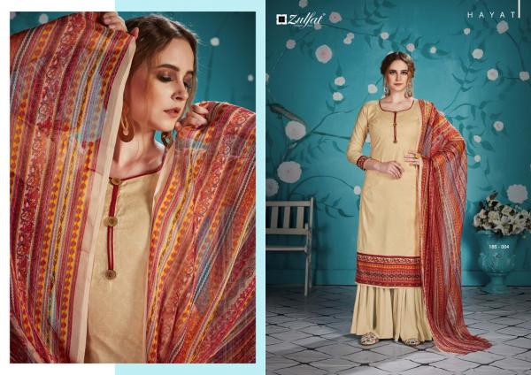 Zulfat-Hayat Cotton Exclusive Summer Collection Suit